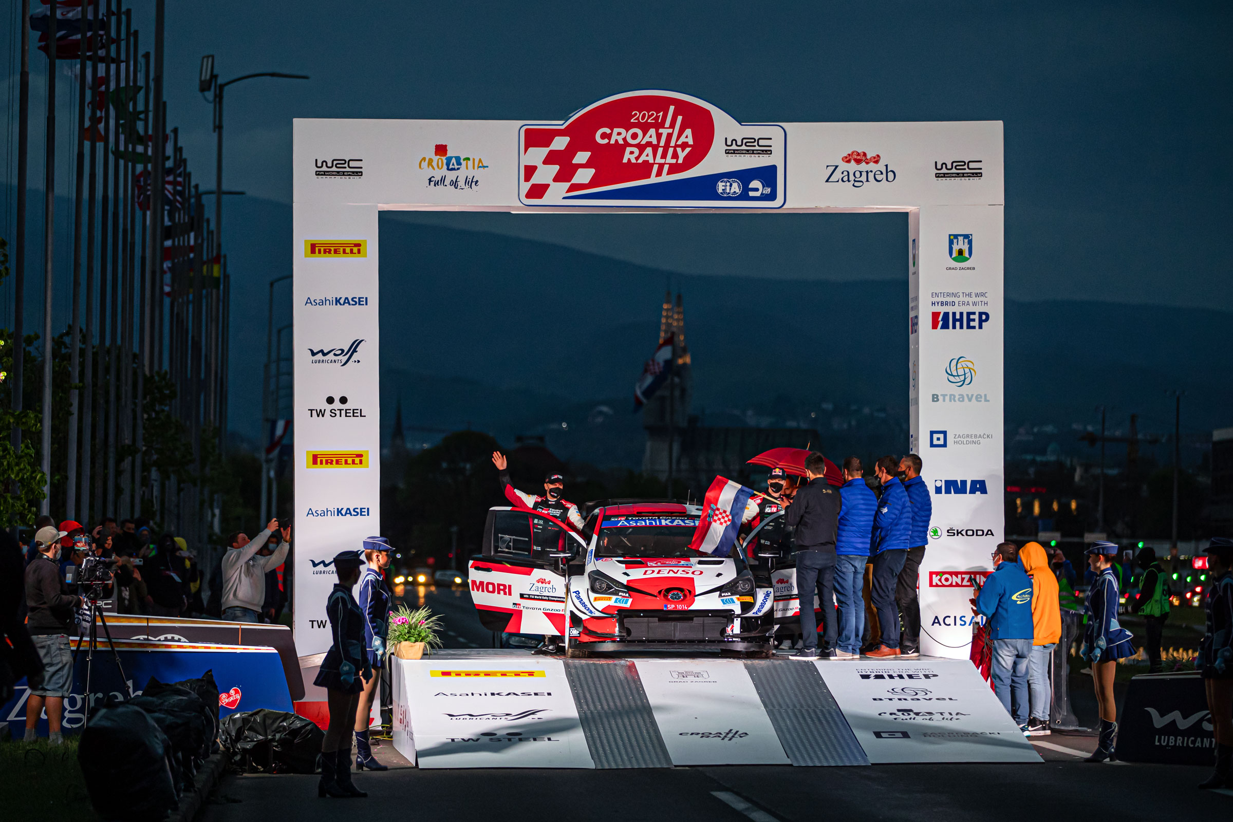 History made as Ceremonial Start marks beginning of first WRC Croatia Rally - 2